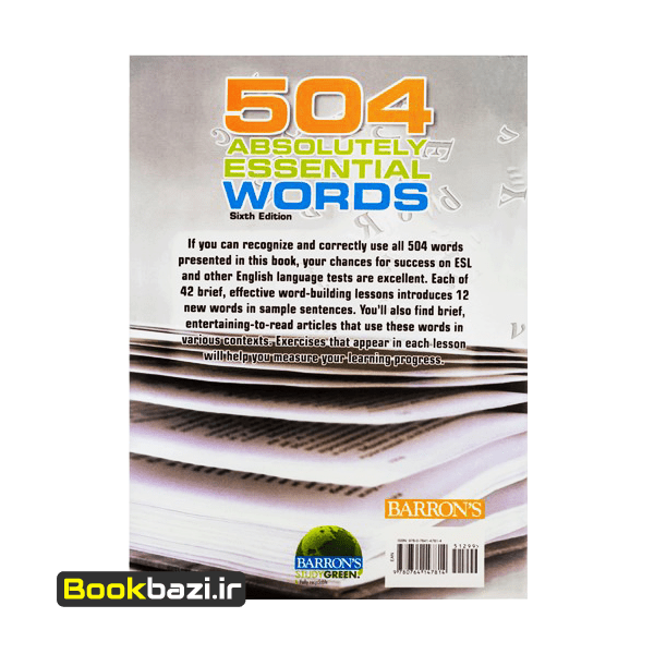 504Absolutely Essential words Barrons